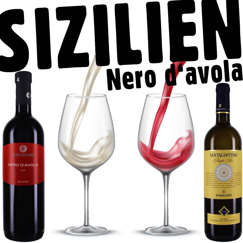 Cusuman Firriato - Rotwein Weisswein Sizilien